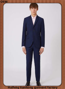 Blue Men Designer Office Suit Sale Online pictures & photos