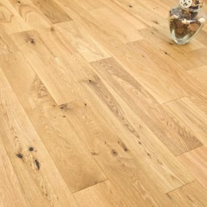 Rustic Grade Engineered White Oak Wood Flooring pictures & photos