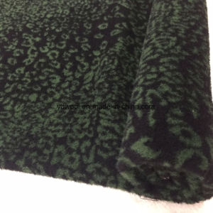 Ready/Stock Jacquard Wool Fabric Leopard Print pictures & photos