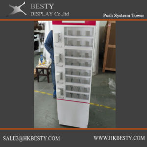 jewelry Display Showcase with Box Push system pictures & photos