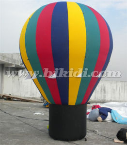 Colorful Hot Air Shape Inflatable Ground Balloon for Advertising K2099 pictures & photos