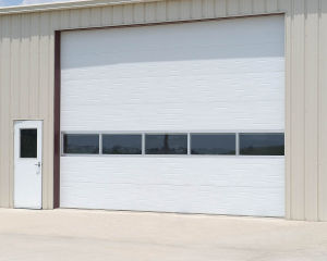 Industrial Remote Replacement Part Folding House Plans House Sectional Door (Hz-SD065) pictures & photos