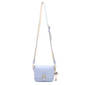 Womens New Style PU Handbag Plain Shoulder Bag