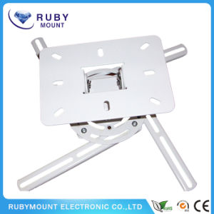 White Strong Ceiling Mount Projector Universal Wall Bracket pictures & photos