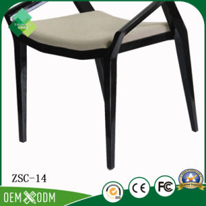 Comfortable Simple Style Star Hotel Beech Armchair for Sale (ZSC-14) pictures & photos