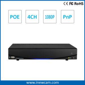 H. 264 Onvif P2p Poe 4CH 1080P NVR Security System pictures & photos