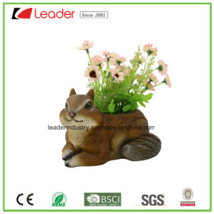 Hand-Painted Polyresin Newest Tree Face Flowerpots for Home and Garden Decoration pictures & photos