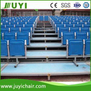 Jy-716 Steel Frame Structure Bleachers Plastic Chair Outdoor Bleachers pictures & photos