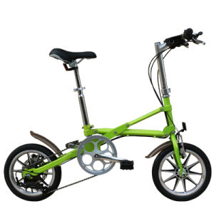 One Second Folding Bike with Variable Speed/Light Weight Folding Bicycle pictures & photos