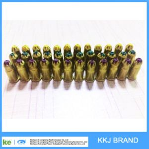 S5 Green/Brown/Yellow Color. 22 Caliber 5.6X16mm Diameter Neck Down Boosters Single Power Loads