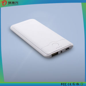 Li polymer portable power bank 4000mAh with logo printing pictures & photos