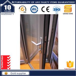 As2047 Double Glass Commercial Aluminum Bi-Fold Sliding Doors pictures & photos