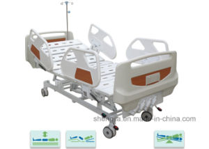 Sjb400mc Luxurious Hospital Bed with Four Revolving Levers