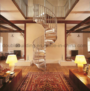 Aluminum Spiral Stairs with Victorian Balusters pictures & photos