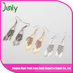 Fancy Design Hanging Earrings Big J Shaped Earrings pictures & photos
