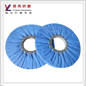 Yiliang Door Handle Bias Airway Cotton Buffing Wheel pictures & photos