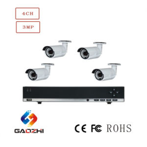 1080P 4channel Poe Dome Bullet Waterproof IP Camera and NVR Security System pictures & photos
