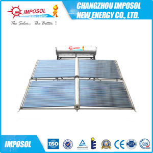 Intergrated Nonpressure Solar Water Heating System with Stainless Steel Tank pictures & photos