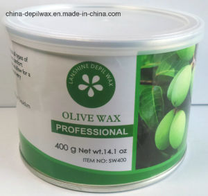 Strawberry Depilatory Wax Soft Strip Wax 400g Can pictures & photos