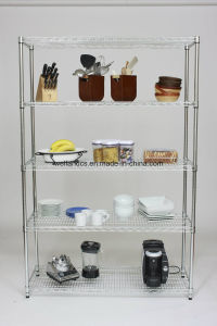 NSF Approval Kitchen Dish Wire Rack Restaurant Shelving From Shelf Factory pictures & photos