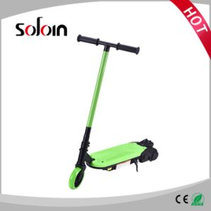 2 Wheel Mini Foldable PU/PVC Tire Electric Kick Motor Scooter for Children (SZE80S-1) pictures & photos