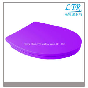 Eco-Friendly Closed Front Urea Toilet Seat Cover
