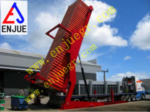 Telescopic Container Tilter with Load Reading Cell pictures & photos
