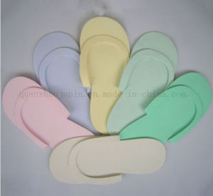 OEM Logo Custom EVA Eco-Friendly Beach Hotel Disposable Slipper pictures & photos