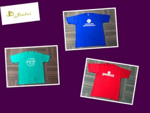 100% Cotton Cheap Price Men′s T-Shirt with Logo pictures & photos
