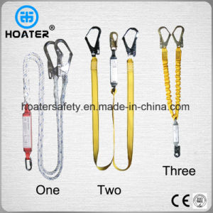 2017 Hot High Strength Safety Harness Polyester Lanyard with Hooks pictures & photos