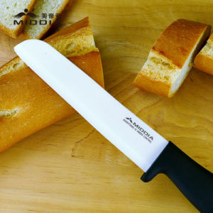 "Kitchen Culinary 6"" Ceramic Slicing Knife Bread Slicer Knife pictures & photos"