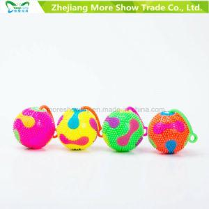Flashing Sounding Light-up Spiky Puffer Massaging Ball Yo-Yo Toys pictures & photos