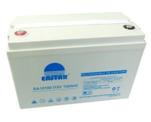 Sealed Lead Acid Battery 12V 100ah Storage Battery for Solar System pictures & photos
