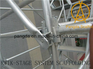 China Construction Steel Tube System Kwikstage Scaffold pictures & photos