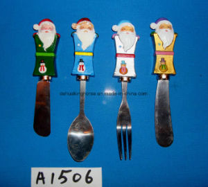 Christmas Decorative Spreader with Resin Handle pictures & photos