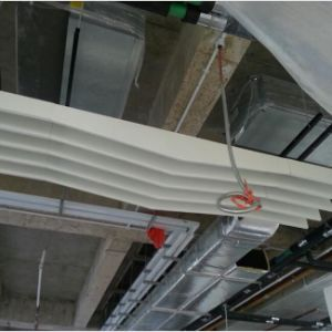 Suspention System High Quality Aluminum False Baffle Ceiling pictures & photos