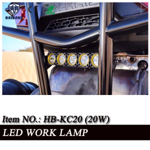 "Tractor Automobile 2"" 10W Rechargeable Portable LED 12V LED Work Light pictures & photos"