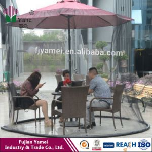 Umbrella Mosquito Net Canopy Pation Set Screen House Umbrella Table Screen pictures & photos