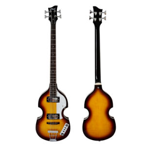 Wholesale OEM ODM Archtop 4-String Electric Violin Bass for Sale pictures & photos