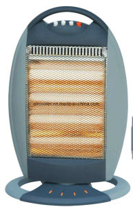 1600W Electric Heater with Halogen Heating