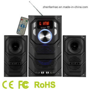 2.1CH Multimedia Speaker with Bluetooth for Home Theater Sound System