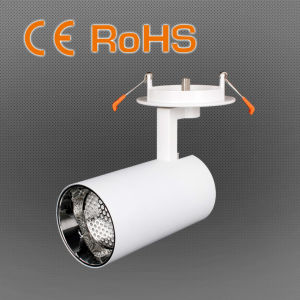 10W COB LED Tracklight, 15/24 Degree Beam pictures & photos