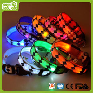 Rhombus Collar LED Pet Collar pictures & photos