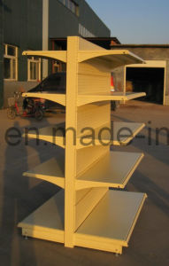 ISO9001: 2008 Certified Grocery Shelf Made of Steel pictures & photos