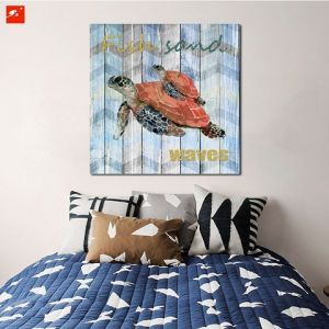 Modern Wall Art Wildlife Tortoise Wood Wall Decor pictures & photos