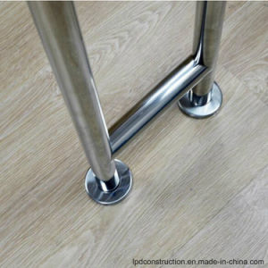 304 Stainless Steel Toilet Polished/Satin/Mirror Grab Bar pictures & photos