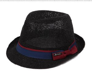 Good Quality Summer Panama Beach Paper Straw Hat pictures & photos