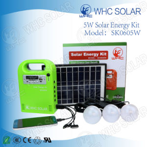 5W/5000mAh/6V Mini DC Solar Home Lighting Power System pictures & photos