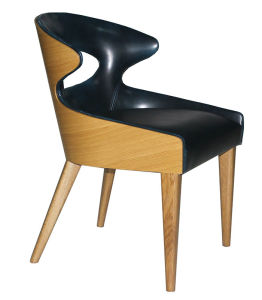 Modern Hotel Restaurant Dining Furniture Wooden Dining Chair (HC-LW266) pictures & photos