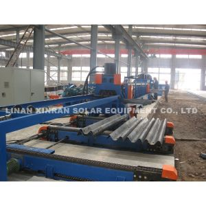 Forming Machine Road Crash Barrier Accessories Highway Guardrail Roll Forming Machine with Cutting Machine Bending Machine pictures & photos